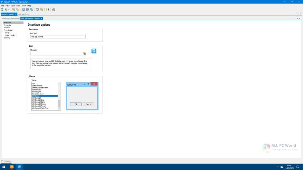 DecSoft HTML Compiler 2021 One-Click Download