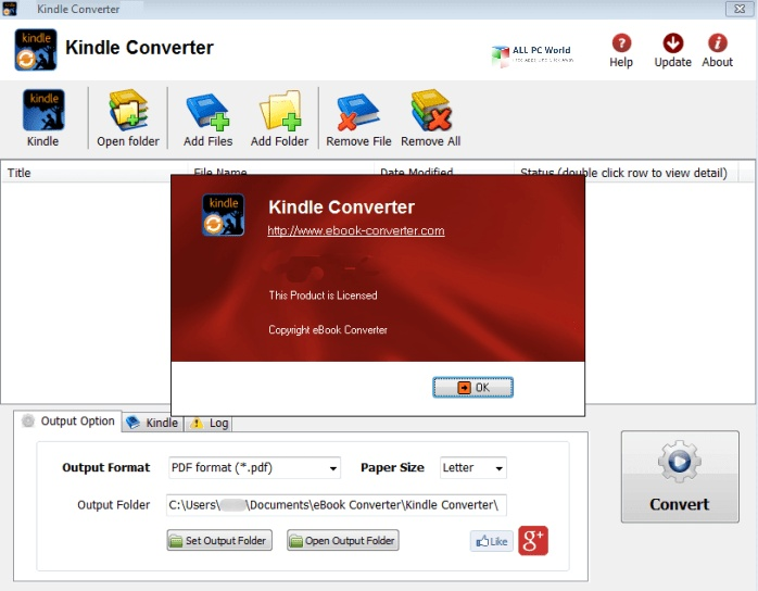 Kindle Converter 3.21 Free Download