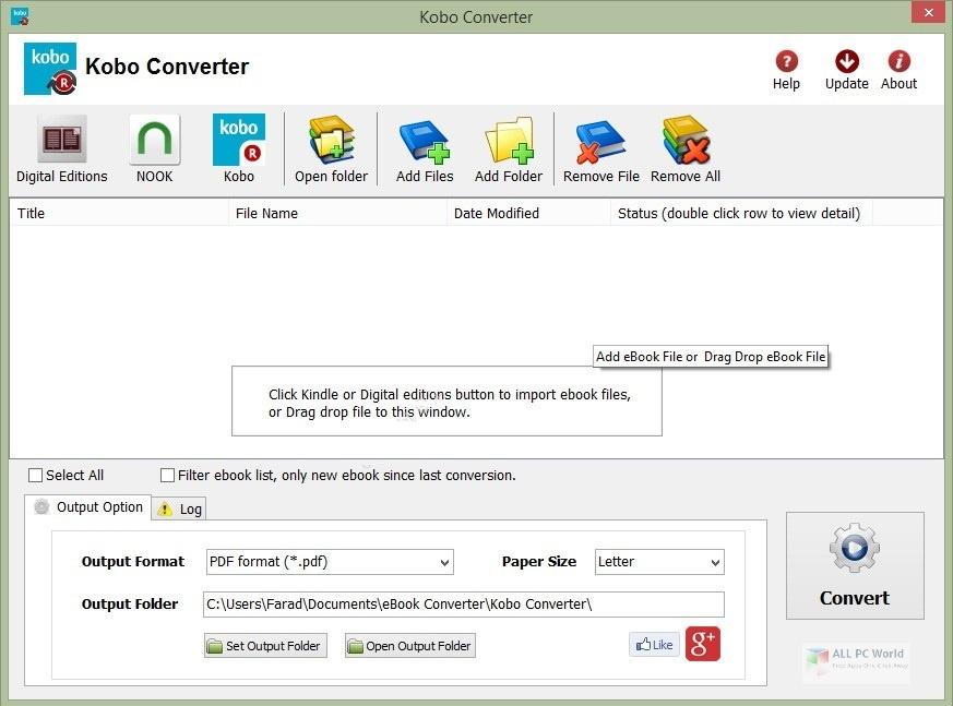 Kobo Converter 3.2 Free Download