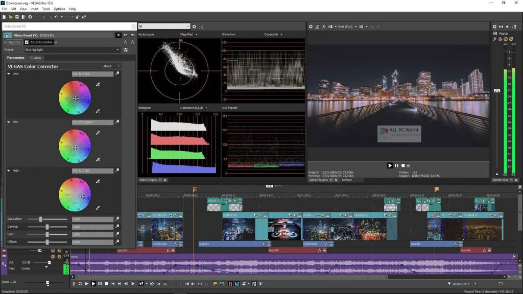MAGIX VEGAS Movie Studio 2020 v17.0 Platinum One-Click Download
