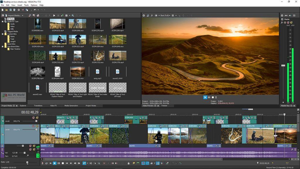 MAGIX VEGAS Movie Studio Platinum 2020 v17.0 Direct Download Link