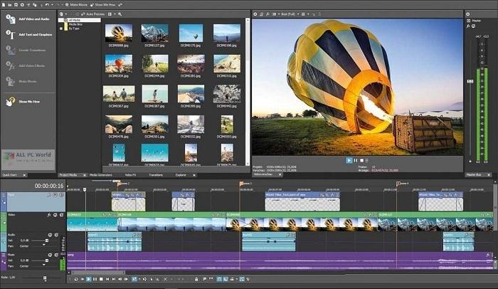 MAGIX VEGAS Movie Studio Platinum 2020 v17.0 Free Download