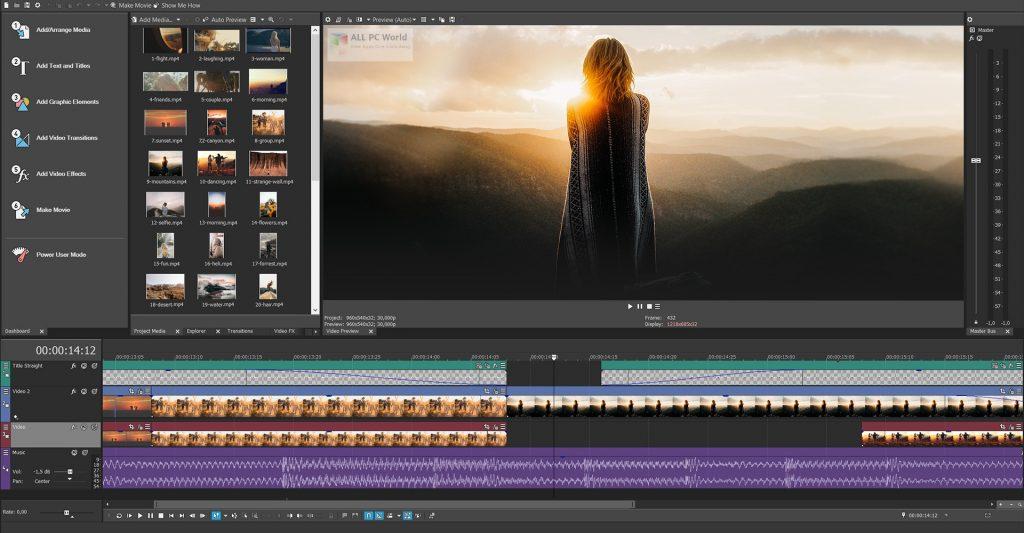 MAGIX VEGAS Movie Studio Platinum 2020 v17.0 Full Version Download