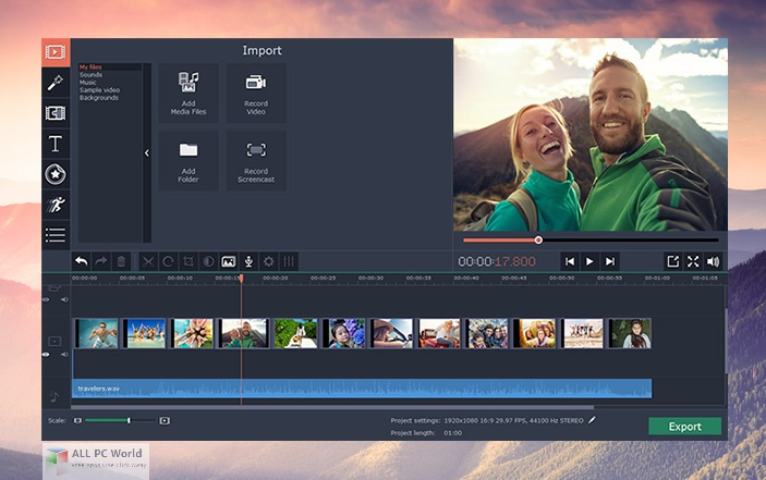 Movavi Video Editor Plus 21.0 Direct Download Link