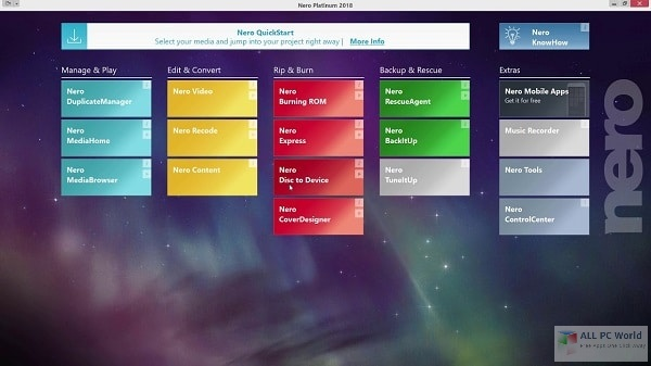 Nero Platinum Suite 2021 v23.0 Full Version Download