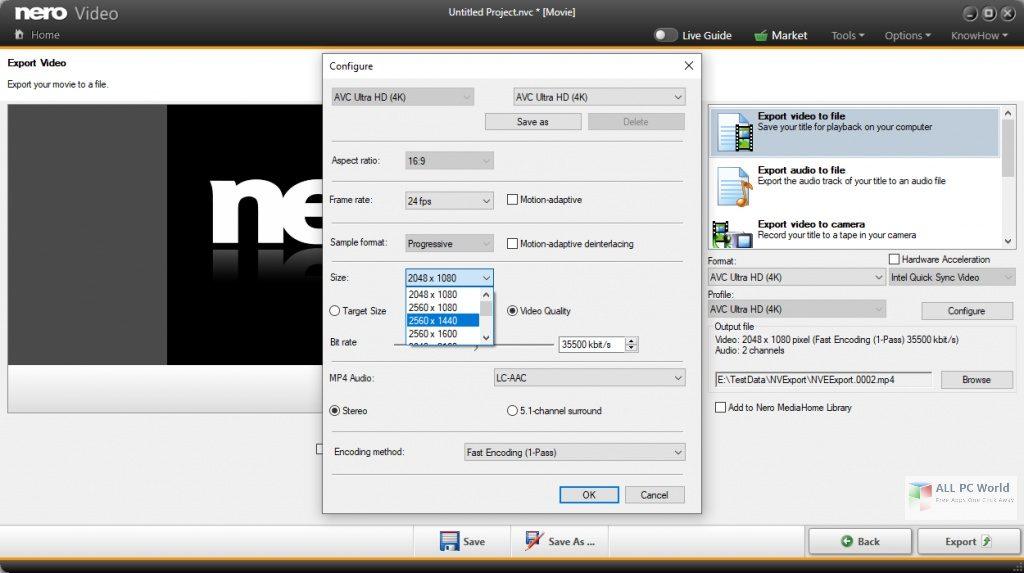 Nero Video 2021 v23.0 Free Download