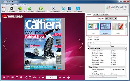 Next FlipBook Maker Pro 2.7.5 One-Click Download