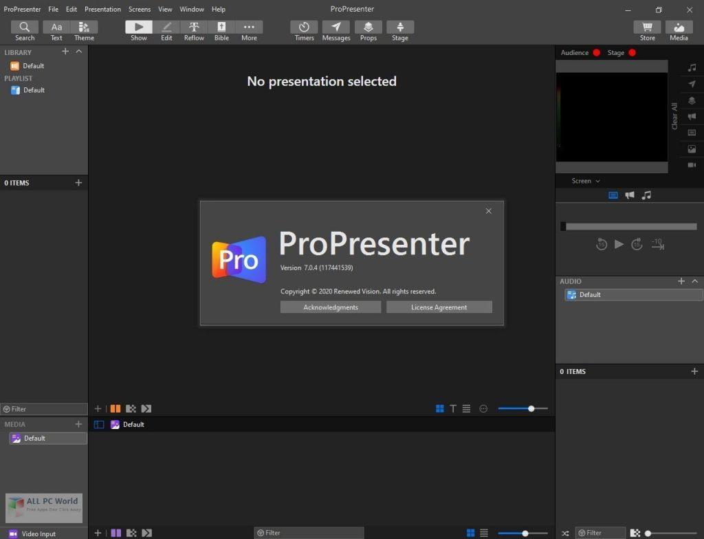 ProPresenter 2020 v7.2 Free Download