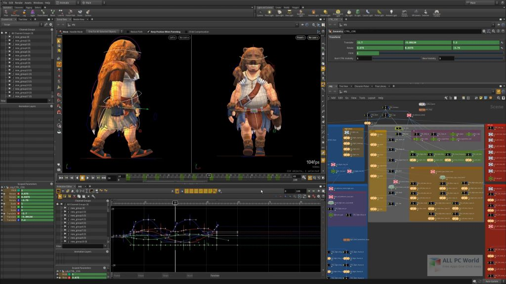 SideFX Houdini FX 18.5 Free Download