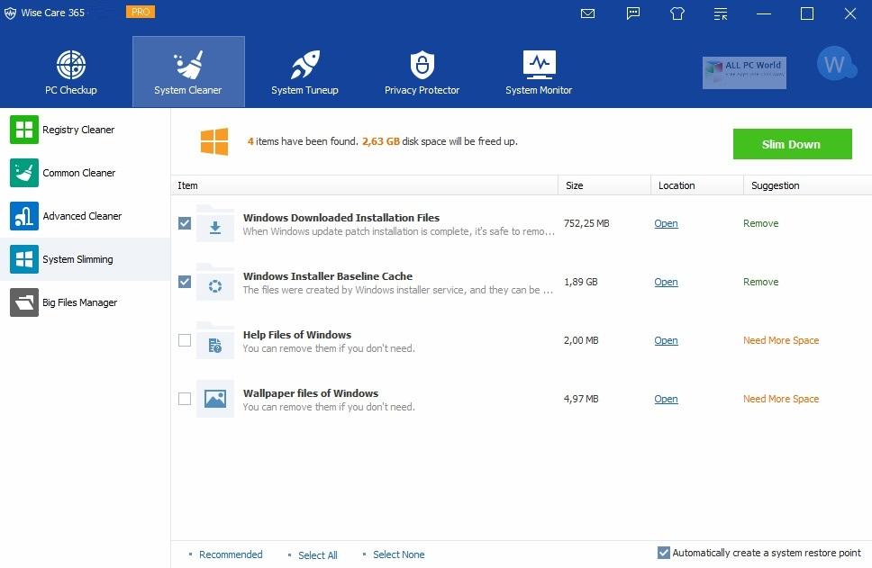 Wise Care 365 Pro 2020 v5.5.8 Direct Download Link