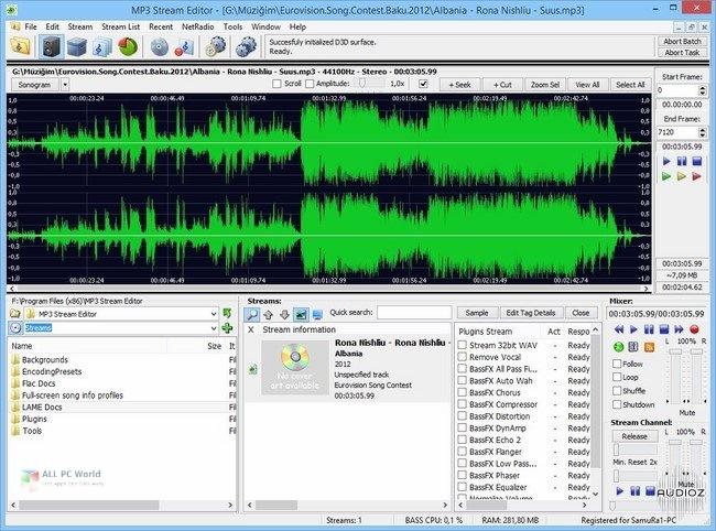 3delite MP4 Stream Editor 3.4 Free Download