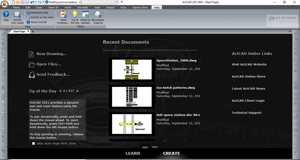 ActCAD Professional 2021 Installer