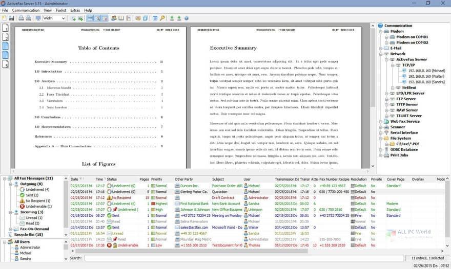 ActiveFax Server 7.15 Direct Download Link