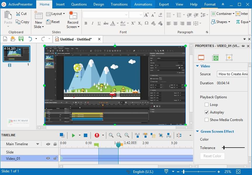 ActivePresenter Professional Edition 2020 Download