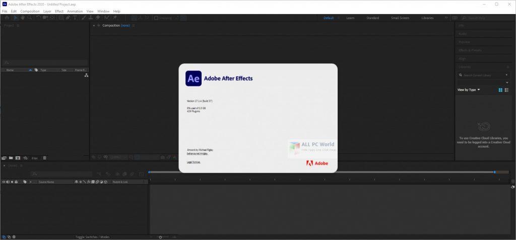 Adobe After Effects 2020 v17.1.5 Direct Download Link