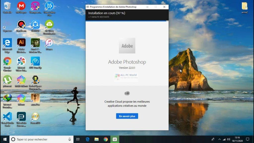 Adobe Photoshop CC 2021 v22.0.1