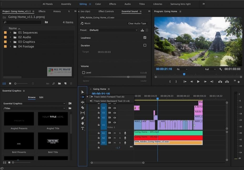 Adobe Premiere Pro 2020 v14.6 One-Click Download