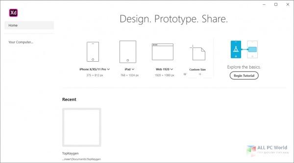 Adobe XD CC 2020 v35.1 One-Click Download
