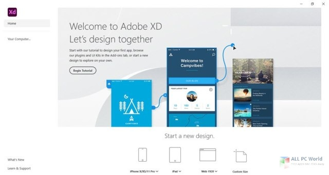 Adobe XD CC 2020 v35.1 for Windows