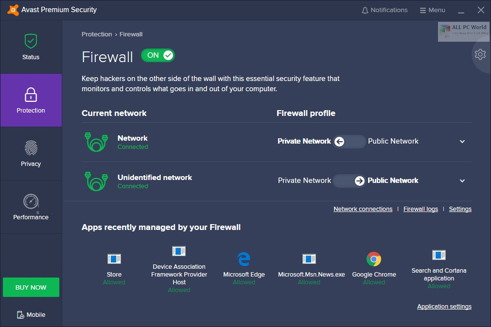 Avast Premium Security 20.10