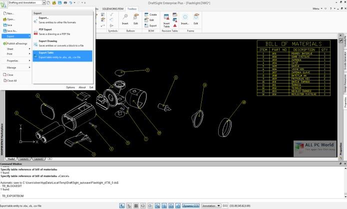 DS DraftSight Enterprise Plus 2020 SP4