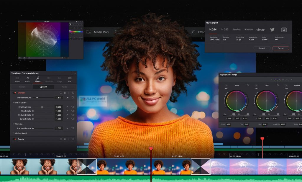 DaVinci Resolve Studio 17.0 Free Download