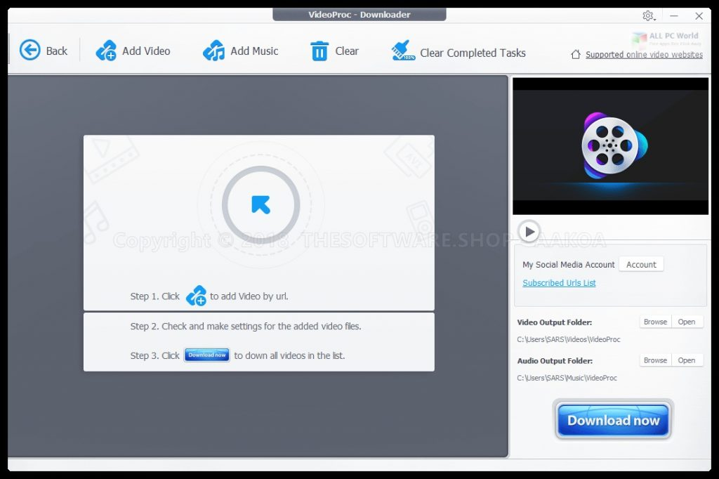 Digiarty VideoProc 4.0 for Windows