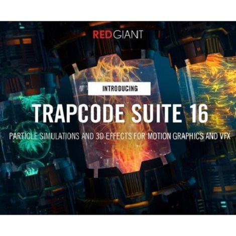 Download Red Giant Trapcode Suite 16.0