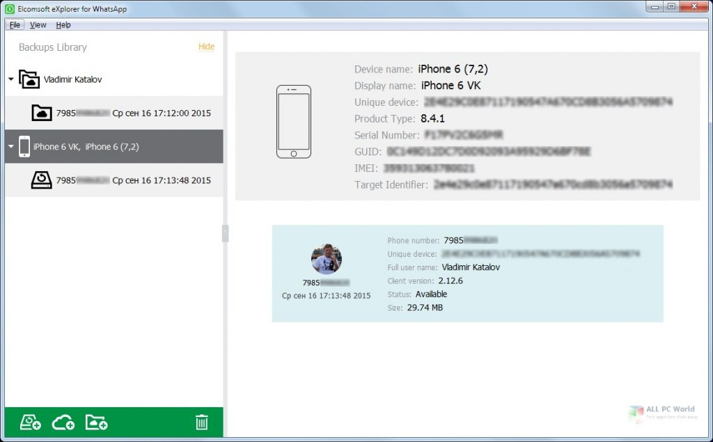 Elcomsoft Explorer For WhatsApp Forensic Edition 2020 Free Download