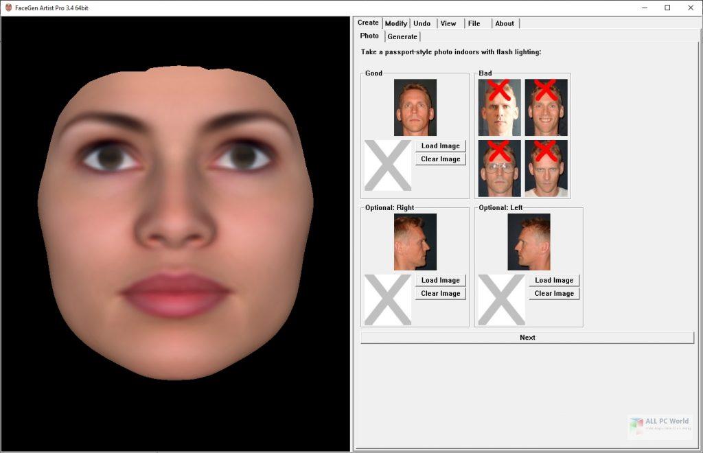 FaceGen Artist Pro 3.6 Free Download