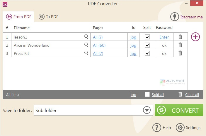 Icecream PDF Converter 2020 Direct Download Link