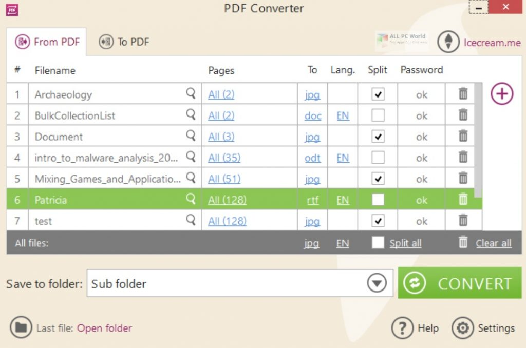 Icecream PDF Converter 2020 Free Download