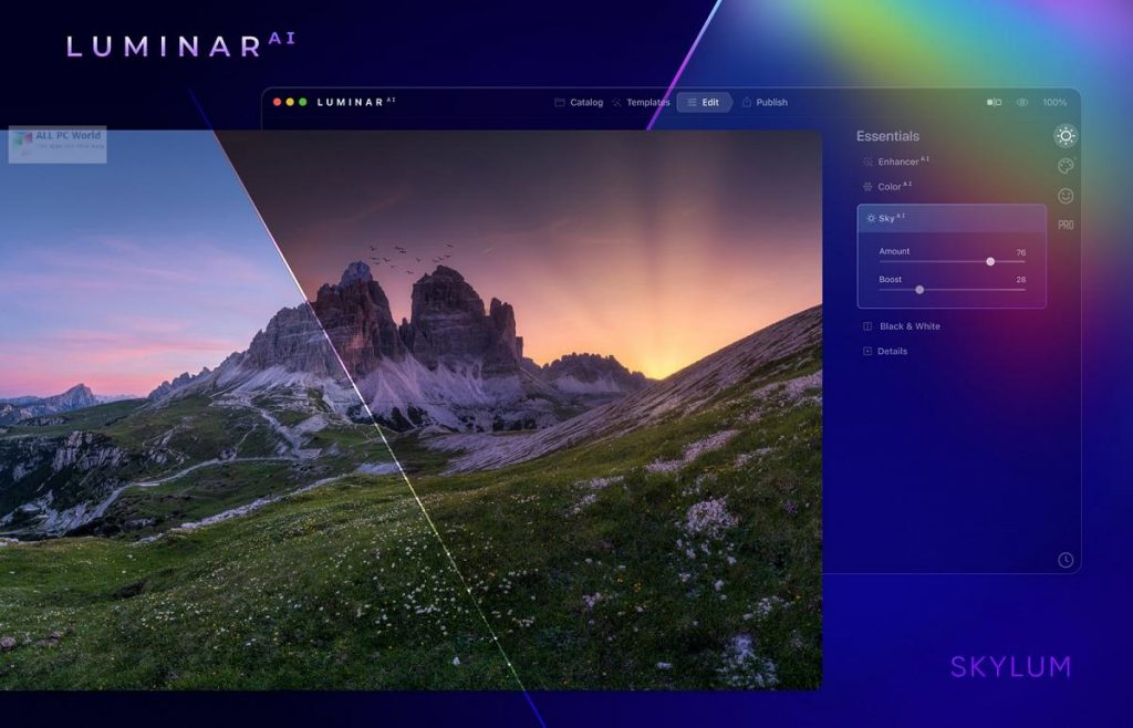 Luminar AI 2021 v1.0.1 Direct Download Link
