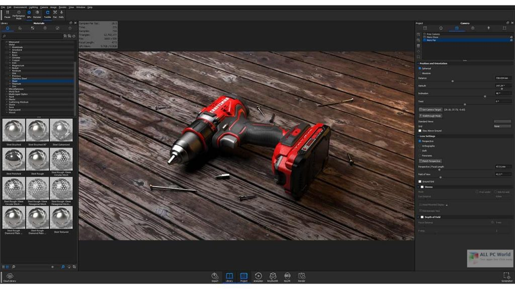 Luxion KeyShot Pro 10 One-Click Download