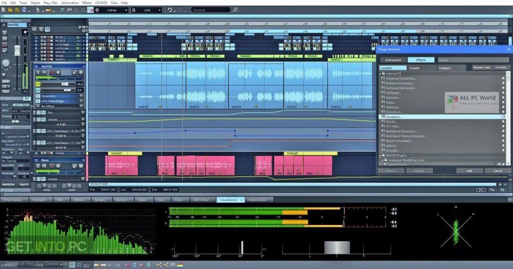 Magix Samplitude Music Studio 2021 v26.1 One-Click Download