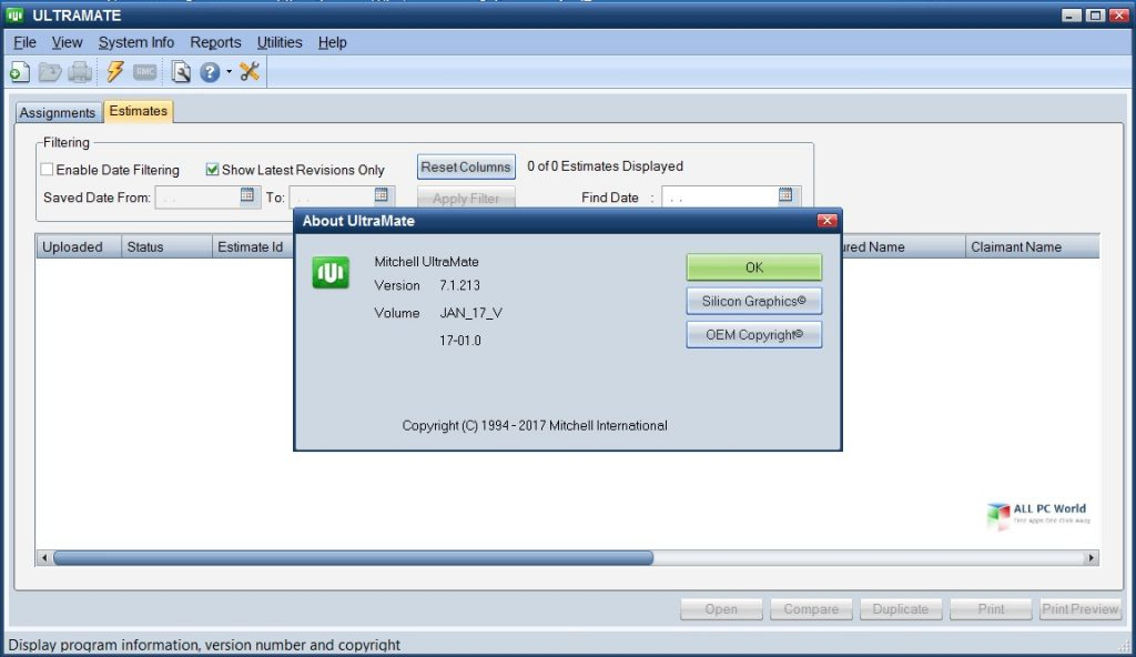Mitchell UltraMate Estimating 7.1 One Click Download