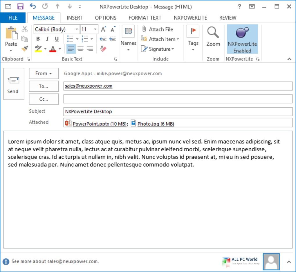 NXPowerLite Desktop Edition 9 Download