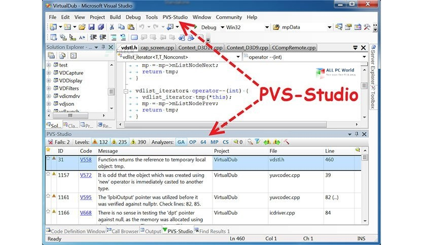 PVS-Studio 7.11 One-Click Download