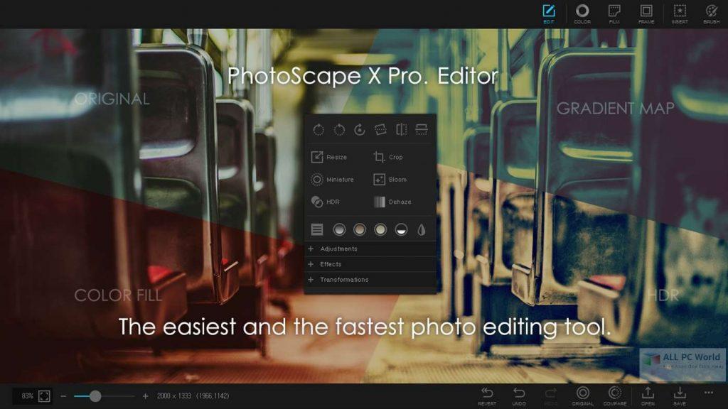 PhotoScape X Pro 4.1 Direct Download Link