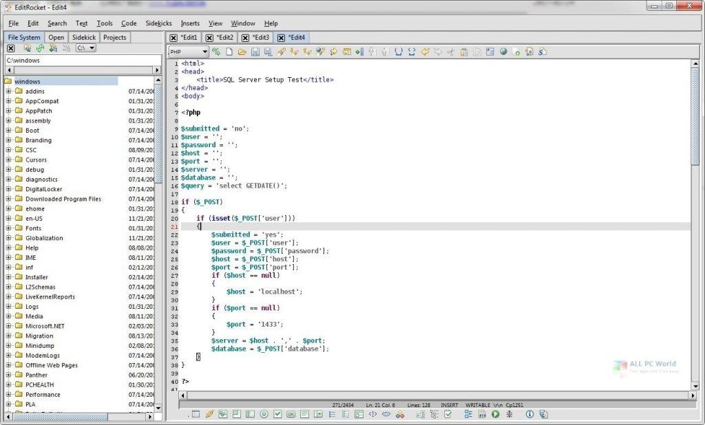 Richardson Software EditRocket 4.5.7 One-Click Download