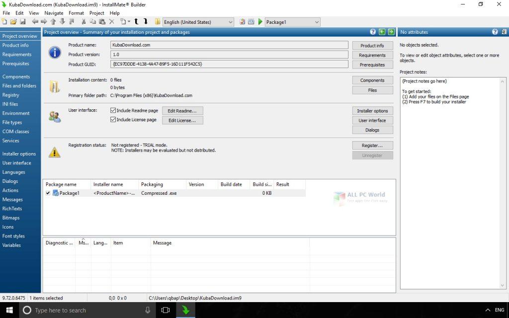 Tarma InstallMate 2020 Installer