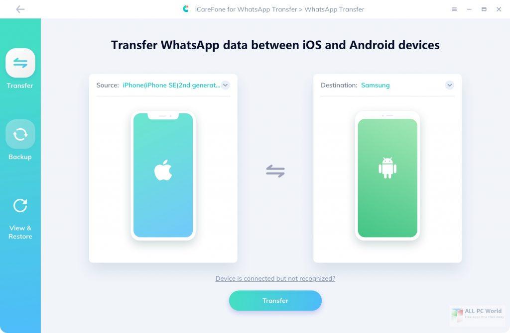 Tenorshare iCareFone for WhatsApp Transfer 3.0