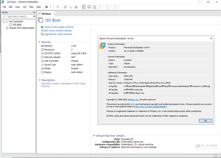 VMware Workstation Pro 16.1 Full Version Download