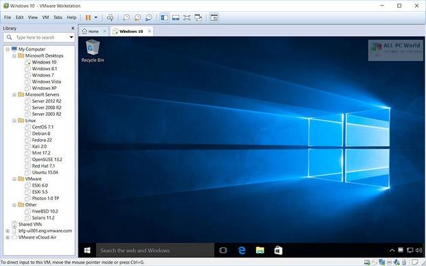 VMware Workstation Pro 16.1 for Windows