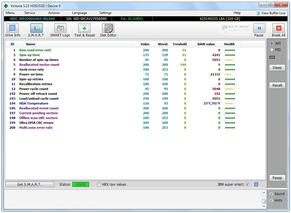 Victoria 5 Software Free Download