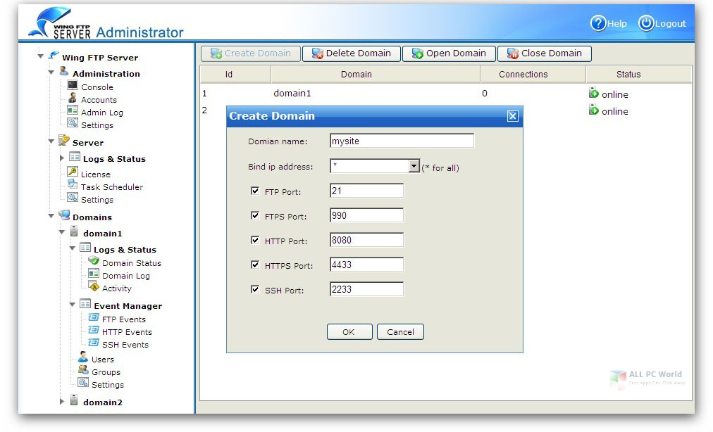 Wing FTP Server Corporate 6.4 Full Version Download