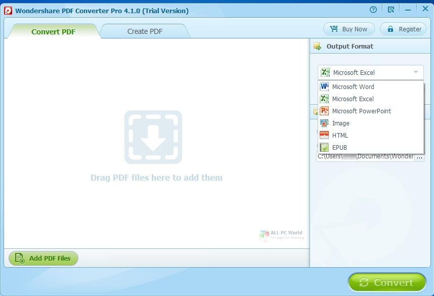 Wondershare PDF Converter 5.1 Direct Download Link