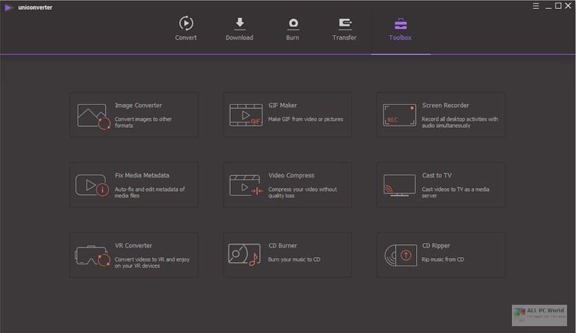 Wondershare UniConverter 12.5 Direct Download Link