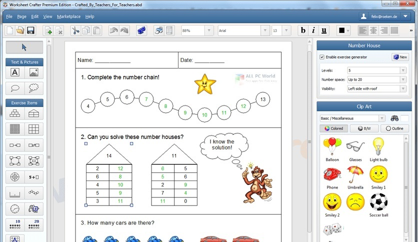 Worksheet Crafter Premium Edition 2020 Free Download