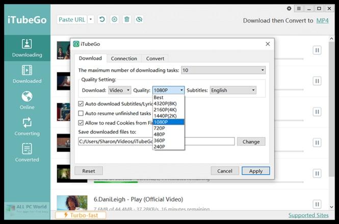 iTubeGo YouTube Downloader 4.2.9 Full Version Download